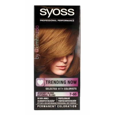 Syoss Trending Now 7.66 Autumnal Blond 1 st