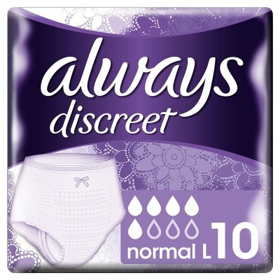 Always Discreet Pants Normal Large 10 stk