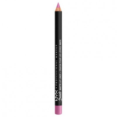 NYX Suede Matte Lip Liner Respect The Pink 1 kpl