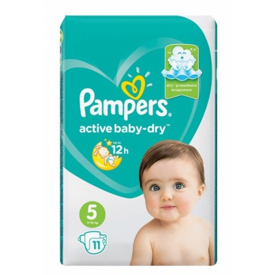 Pampers Active Baby-Dry 5 11 stk