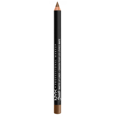 NYX Suede Matte Lip Liner Downtown Beauty 1 stk