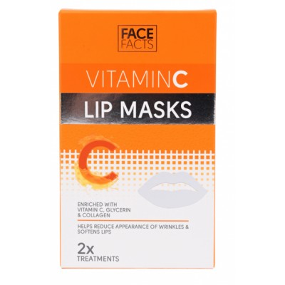 Face Facts Vitamin C Lip Masks 2 kpl