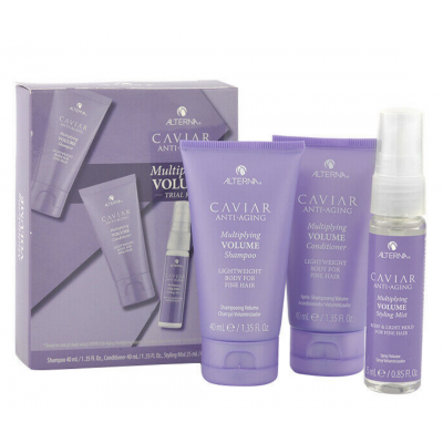 Alterna Caviar Multiplying Volume Trial Kit 40 ml + 40 ml + 25 ml