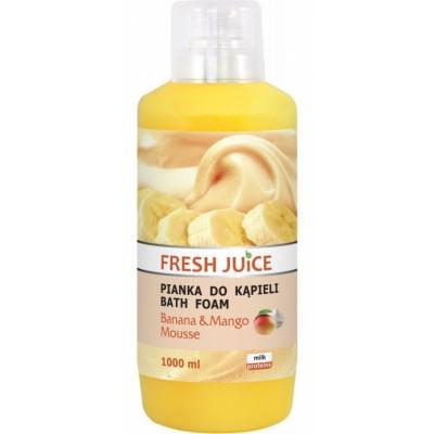 Fresh Juice Banana & Mango Mousse Bath Foam 1000 ml