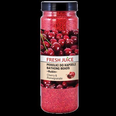 Fresh Juice Cherry & Pomegranate Bathing Beads 450 g