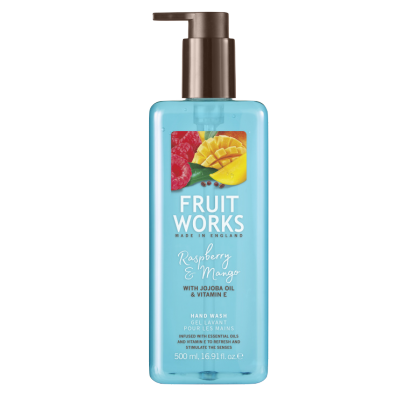 Grace Cole Fruit Works Raspberry & Mango Hand Wash 500 ml