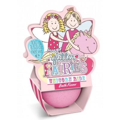 The Luxury Bathing Company Glitter Fairies Unicorn Ride Bath Fizzer 100 g