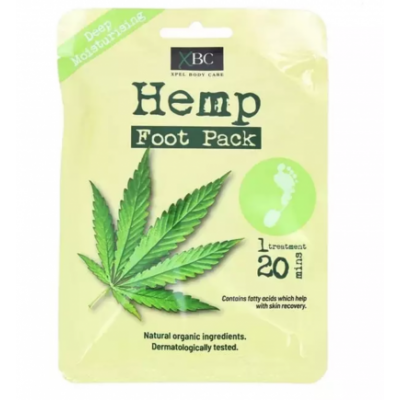 XBC Hemp Foot Pack 1par