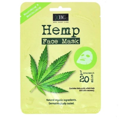 XBC Hemp Face Mask 1 stk