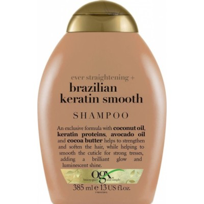 OGX Brazilian Keratin Smooth Shampoo 385 ml