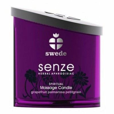 Swede Senze Spiritual Massage Candle Grapefruit Palmarosan 150 ml
