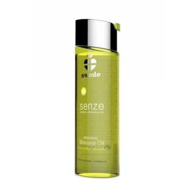 Swede Senze Arousing Massage Oil Lemon Pepper Eucalyptus 75 ml
