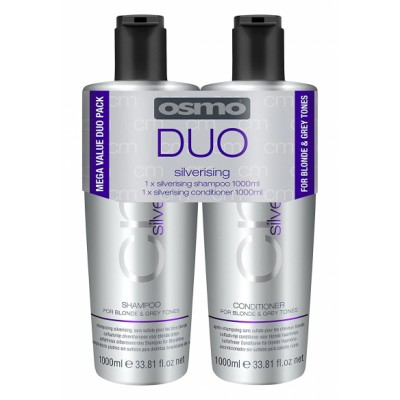 Osmo Silverising Shampoo & Conditioner 2 x 1000 ml