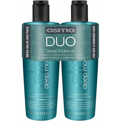 Osmo Deep Moisture Shampoo & Conditioner 2 x 1000 ml