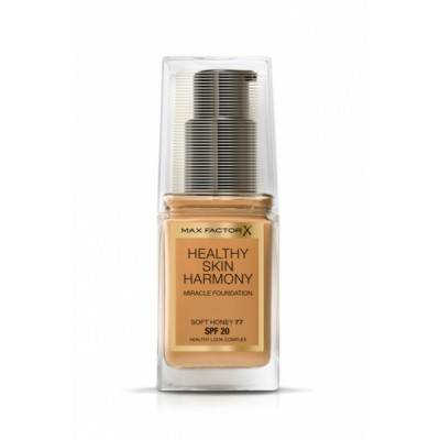 Max Factor Healthy Skin Harmony Foundation 77 Soft Honey 30 ml