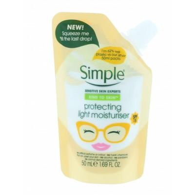Simple Protecting Light Moisturiser Pouch 50 ml