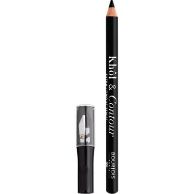 Bourjois Khol & Contour Eyeliner & Sharpener 001 Noir-issime 1,14 g