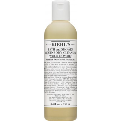 Kiehl's Bath And Shower Liquid Body Cleanser Pour Homme 250 ml