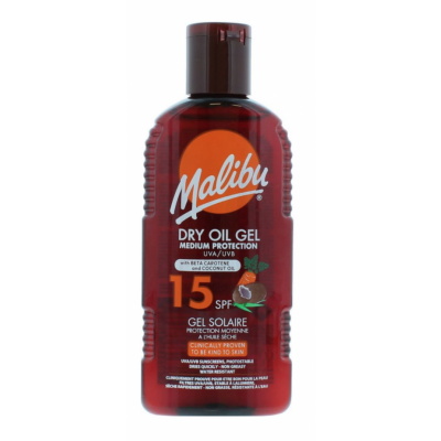 Malibu Dry Oil Gel With Carotene & Coconut Oil SPF15 200 ml