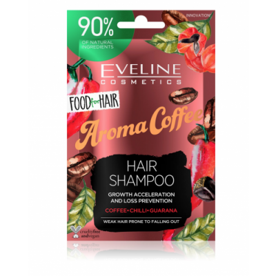 Eveline Aroma Coffee Hair Shampoo 20 ml