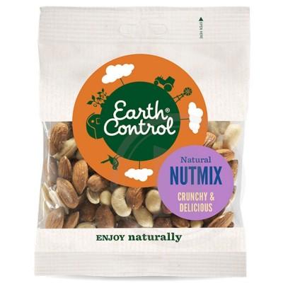 Earth Control Usaltet Nøddemix 130 g
