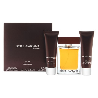 Dolce & Gabbana The One For Men EDT & Aftershave & Shower Gel 100 ml + 2 x 50 ml