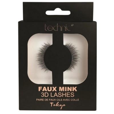 Technic Faux Mink 3D Lashes Tokyo 1 paar