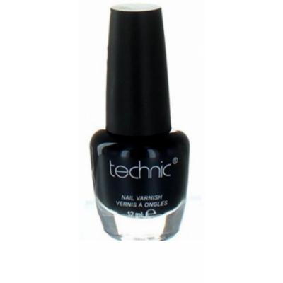 Technic Nail Polish Jet Black 12 ml