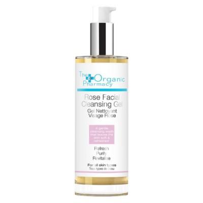 The Organic Pharmacy Rose Facial Cleansing Gel 100 ml