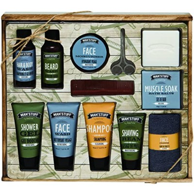 Man'Stuff Mega Man Drawer Bath & Body Set 12 stk