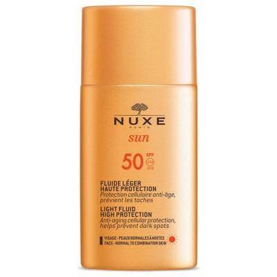 Nuxe Sun Light Fluid High Protection SPF50 50 ml