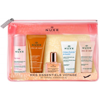 Nuxe My Travel Essentials Travel Kit 2020 35 ml + 2 x 15 ml + 10 ml + 30 ml