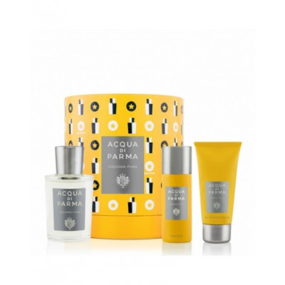 Acqua Di Parma Colonia Pura EDC & Deospray & Showergel 100 ml + 50 ml + 75 ml