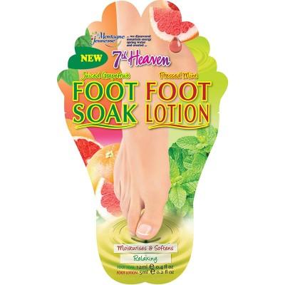 Montagne Jeunesse Foot Soak & Foot Lotion 12 ml + 5 ml