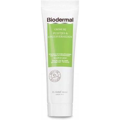 Biodermal Puistjes & Onzuiverheden Crème 30 ml