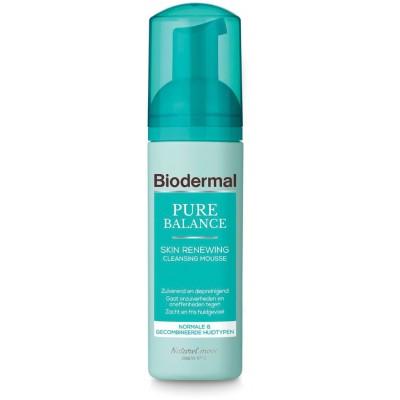Biodermal Pure Balance Skin Renewing Cleansing Mousse 150 ml