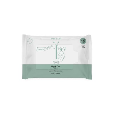 Naïf Care Plastic Free Baby Wipes 54 st