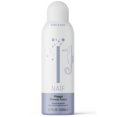 Naïf Care Happy Shower Foam 200 ml