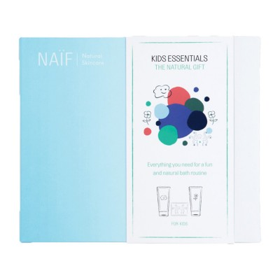 Naïf Care The Kids Essentials Wash Gel & Shampoo & Bath Bombs 2 x 200 ml + 28 x 8 g