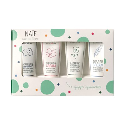 Naïf Care The Mini Set 4 x 15 ml