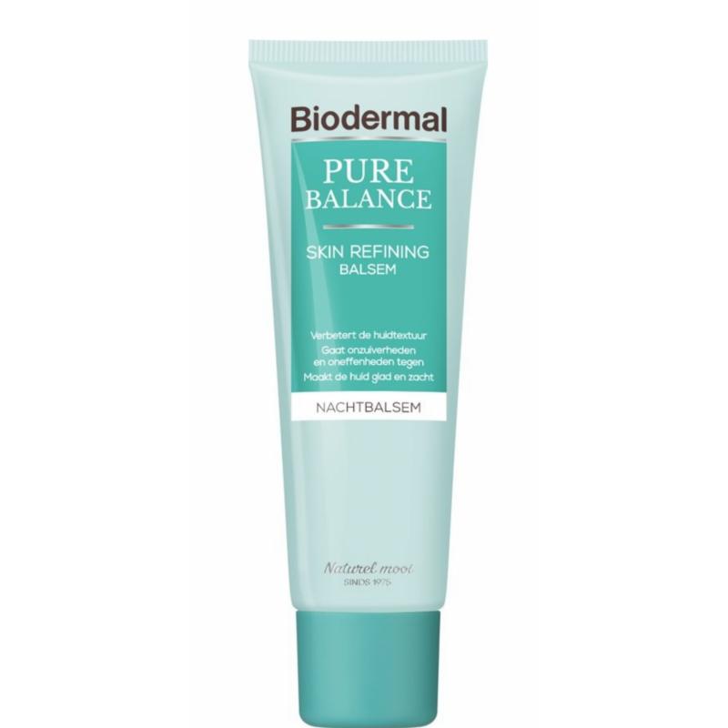 Biodermal Pure Balance Skin Refining Night Cream 50 ml Nattkrem