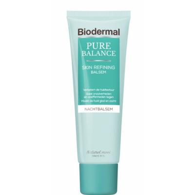 Biodermal Pure Balance Skin Refining Night Cream 50 ml