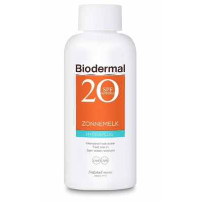 Biodermal HydraPlus Sun Milk SPF20 200 ml