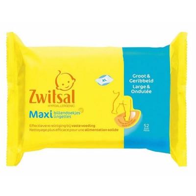Zwitsal Maxi Baby Wipes 52 kpl