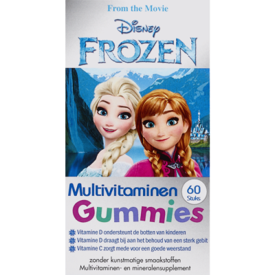Disney Kids Multivitamin Gummies Frozen 60 kpl