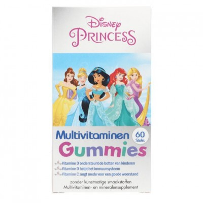 Disney Kids Multivitamin Gummies Princess 60 kpl
