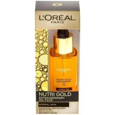 L'Oreal Nutri Gold Regenerating Face Oil 30 ml