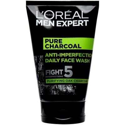 L'Oreal Men Expert Pure Charcoal Anti-Imperfection Face Wash 100 ml