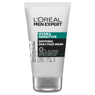 L'Oreal Men Expert Hydra Sensitive Soothing Face Wash 100 ml