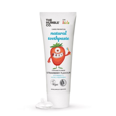 The Humble Co. Eco-Friendly Toothpaste Strawberry 75 ml